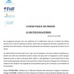 COMMUNIQUE DE PRESSE LE SECTEUR REAFFIRME  23 juin 2014