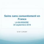 Soins sans consentement en France