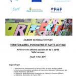 Programme journée du 4 mai 2017