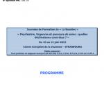 Programme la Bussière 2015