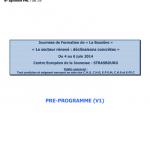 Pré-programma La Bussière 2014