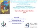 La recherche en psychiatrie: Italie